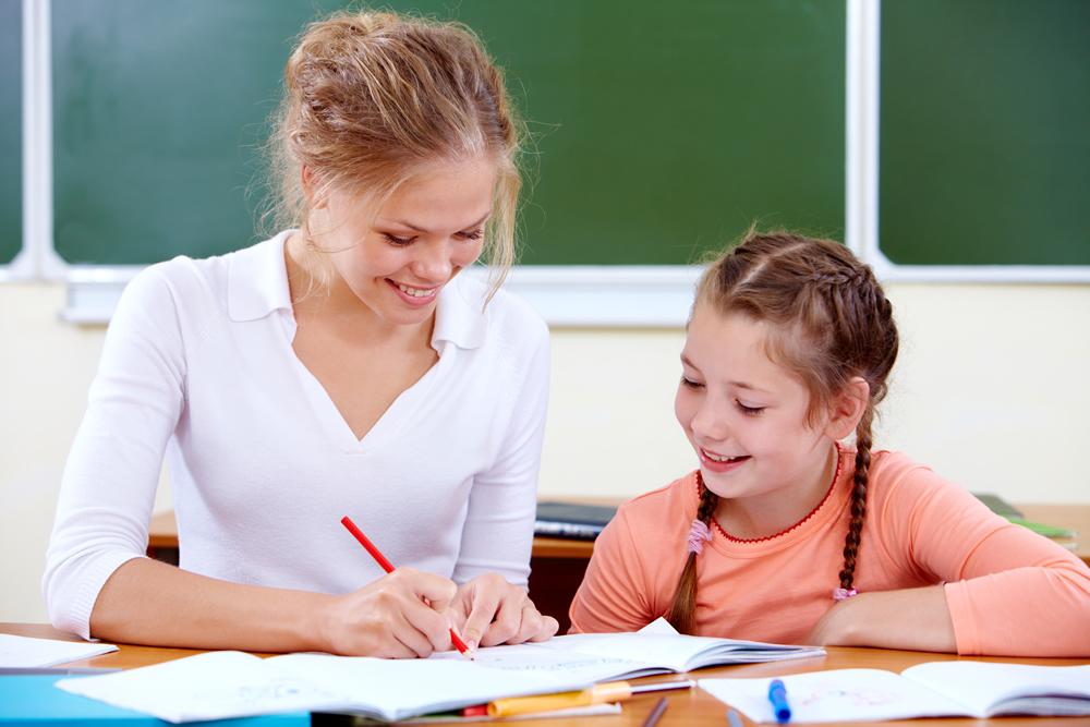 Maestros y alumnas